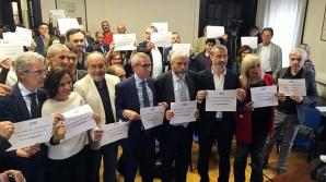 Protest al jurnaliștilor italieni