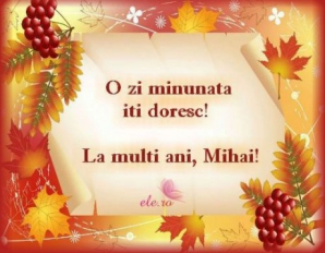 Mesaje Mihail si Gavriil 2018
