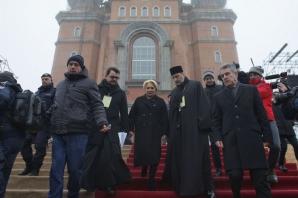 Imaginile zilei la sfințirea Catedralei Mântuirii Neamului