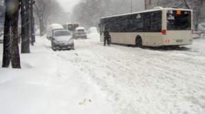 Zăpadă Bucureşti