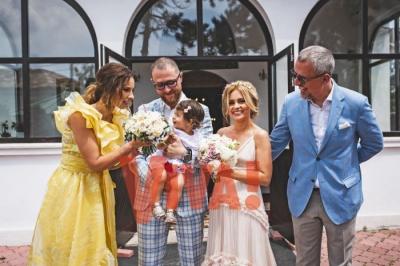 Simona Gherghe s-a măritat! Cum a arătat rochia de mireasă