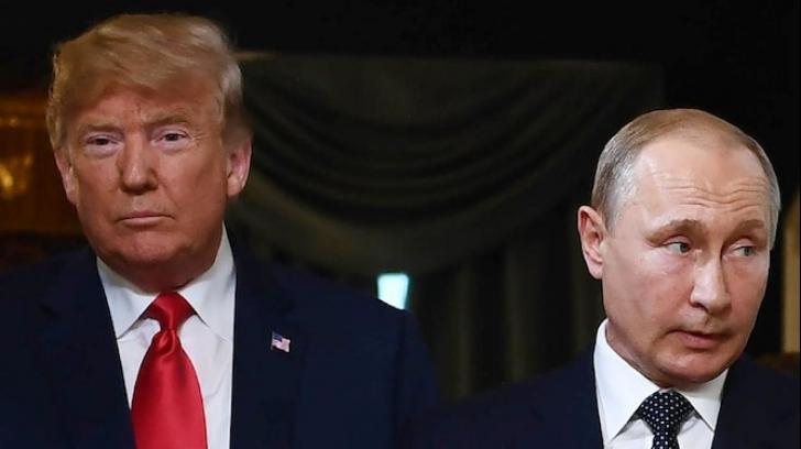 Trump și Putin, întâlnire rece