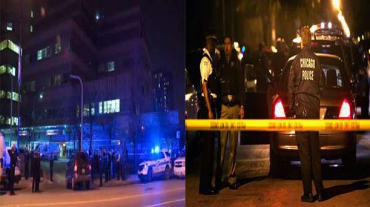 <p>Atac armat în Chicago</p>