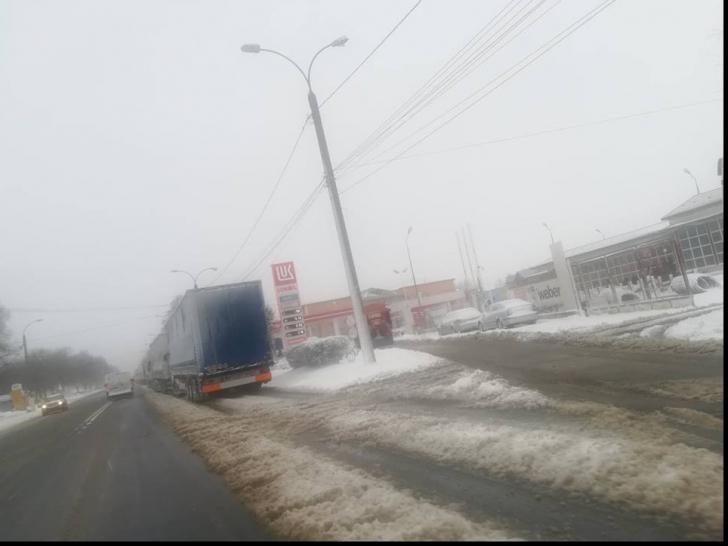 Sute de camioane, blocate în Vama Giurgiu, după ridicarea restricțiilor în Bulgaria