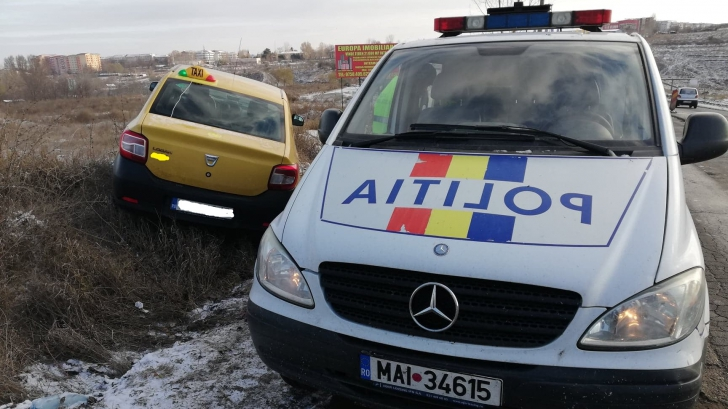 Atac în stil mafiot la Tulcea. Un taximetrist bătut, tâlhărit şi cu maşina furată