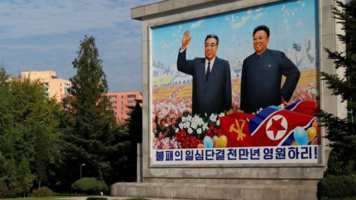 <p>Kim Jong-un face pași spre cultul personalității</p>