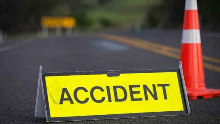 Accident în lanţ pe A2. 7 maşini avariate