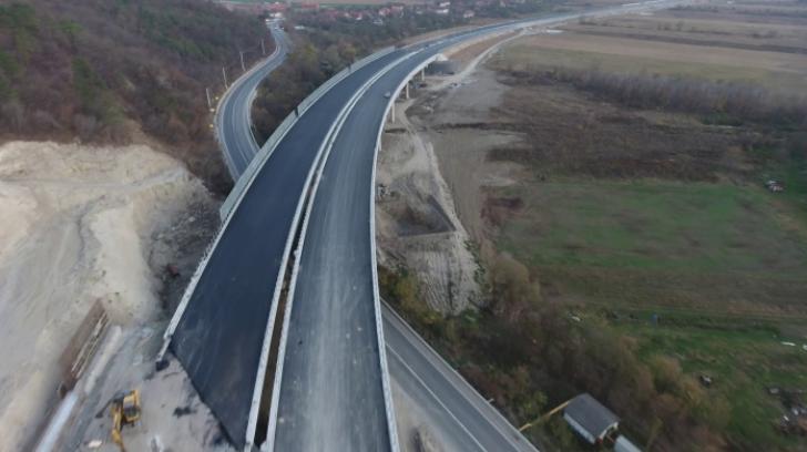 Constructorii Autostrăzii Lugoj-Deva asigură că termenul de finalizare al execuţiei va fi respectat