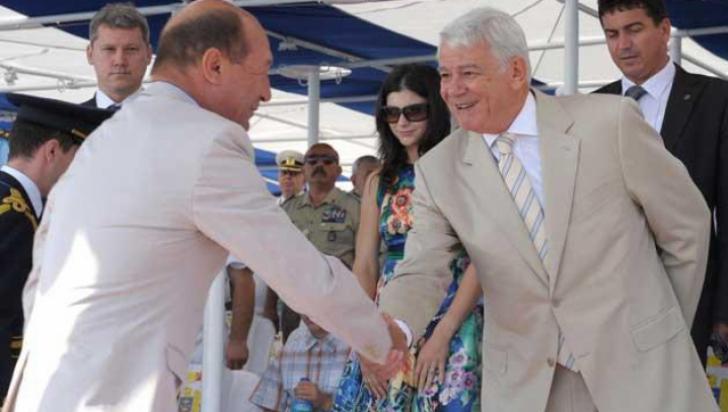 Băsescu: Meleşcanu, cel mai bun agent turistic pentru Viorica Dăncilă