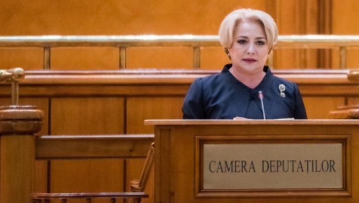 """Viorica Dăncilă, raport în Parlament la """"Ora prim-ministrului"""""""