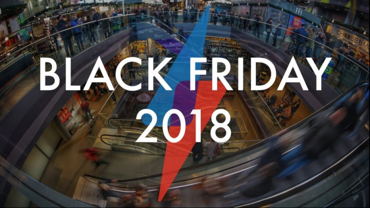 eMAG Black Friday 2018 - November 16 is the day with the largest and largest discounts in the year