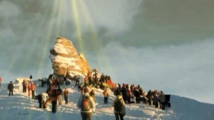 Piramida magică din Munţii Bucegi care apare o dată pe an. Momentul se apropie
