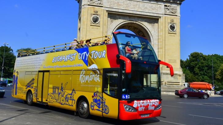 RATB retrage autobuzele etajate de pe linia turistică