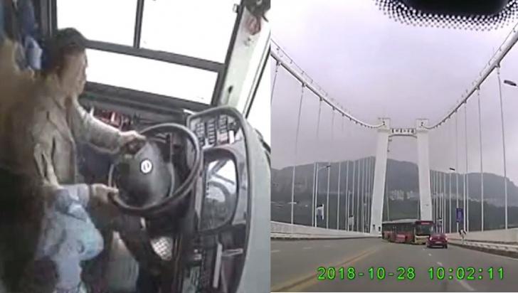 VIDEO ireal. Un autobuz se prăbușește în râu pentru că șoferul se bate cu o pasageră: 13 morți
