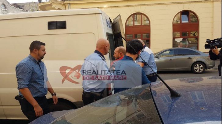 Autorul dublei crime din Satu Mare, trimis în arest