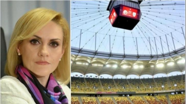 Gabriela Firea, reacție în scandalul Arenei Naționale
