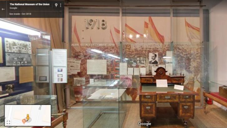 Google Street View și galerii Google Earth dedicate Marii Uniri