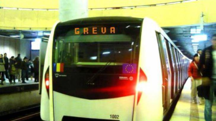 Negocieri eşuate la metrou. Greva ar putea reveni în actualitate