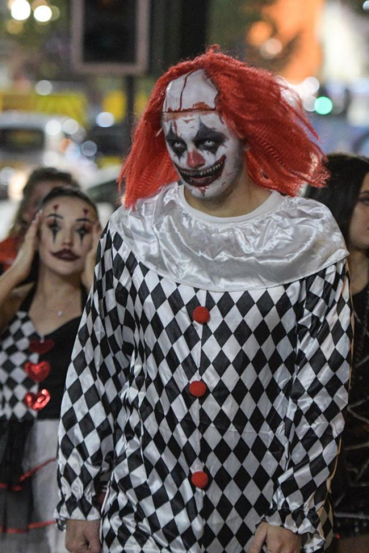 Imaginile nopții de Halloween în Marea Britanie