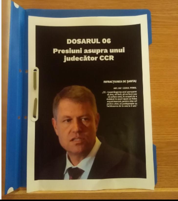 Dragnea îl atacă pe Iohannis din valiză cu șase ,,dosare''