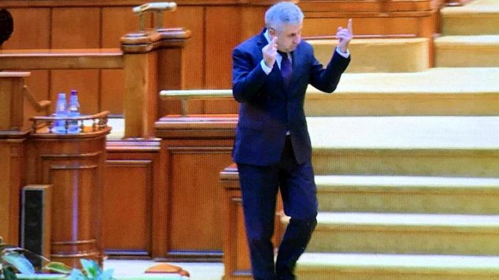 PSD Olt se dezice de Florin Iordache, după gestul obscen din Parlament