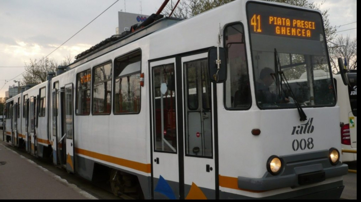 Linia tramvai 41 este blocată!