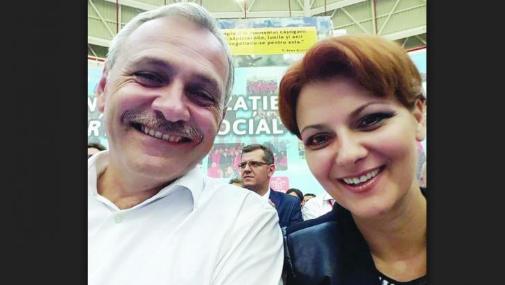 Liviu Dragnea si Lia Olguta Vasilescu