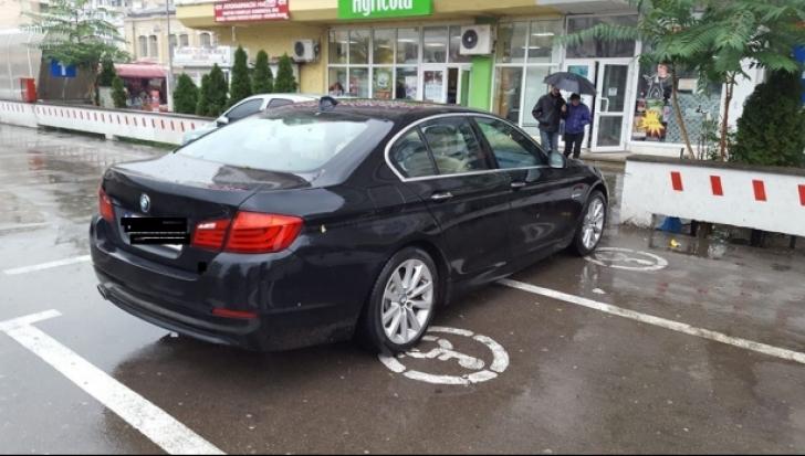 Amenzi uriaşe pentru parcările în locuri nepermise