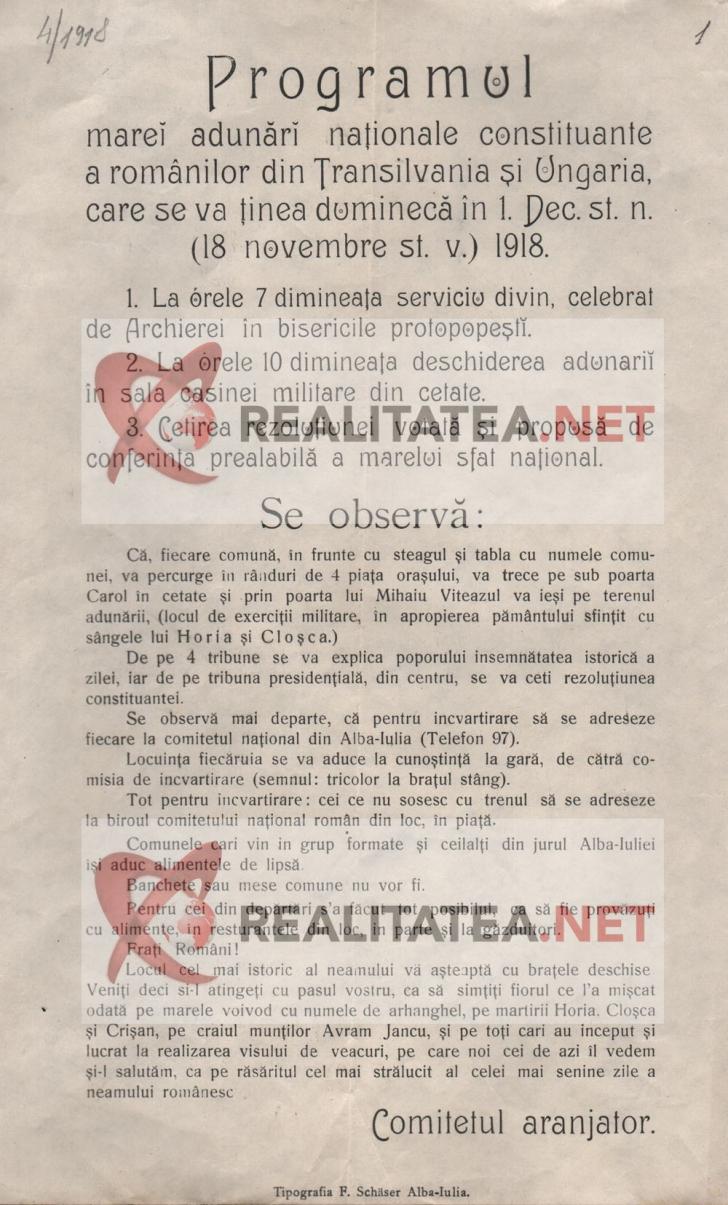 Marea Unire 1918 | Singurele fotografii existente, povestea tristă a fotografului + documente rare