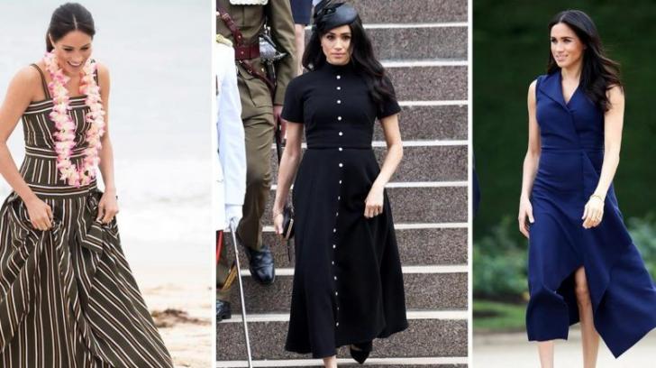 Meghan Markle: de ce nu poartă culori vii precum Kate Middleton