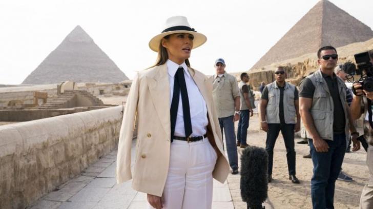 Melania Trump: ce a făcut la un hotel din Cairo