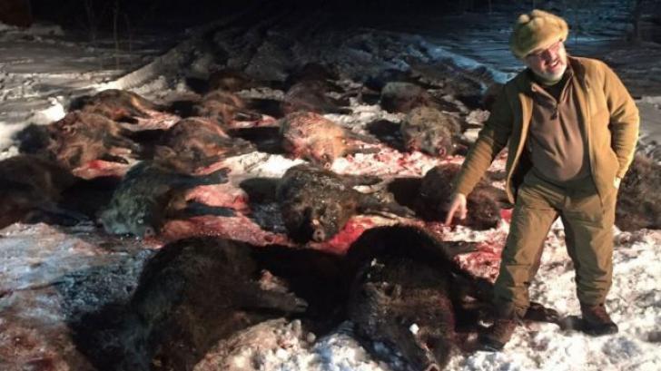 Un masacru vânătoresc demontează minciuna lui Dragnea că nu s-a văzut cu Pitiş de 10-15 ani
