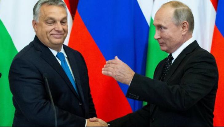Orban și Putin, relații strânse peste umărul SUA