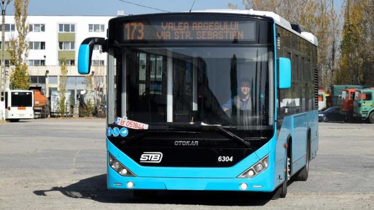 Probleme la noile autobuze Otokar! Șoferii mai corpolenți nu încap în scaun