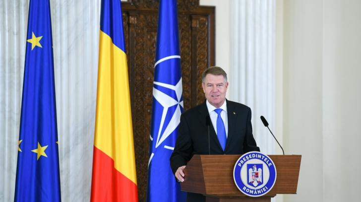 K. Iohannis, discurs de Centenar: Marile izbânzi nu vin dacă avem scopuri meschine, personale