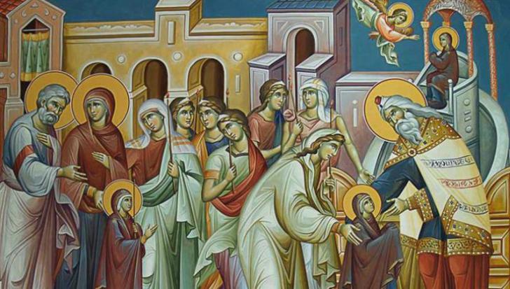 Sărbătoare mare pentru creştinii ortodocşi. Ce să NU faci de Intrarea Maicii Domnului în Biserică