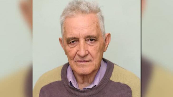 Un bărbat de 76 de ani a dispărut de acasă. Dacă îl vedeţi pe stradă sunaţi la 112!