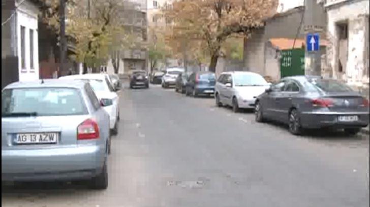 O stradă din București, recent devenită sens unic, a fost scena absurdului
