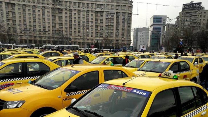 Lovitură grea pentru taximetriștii bucureșteni. Nu au reușit să scape de concurență
