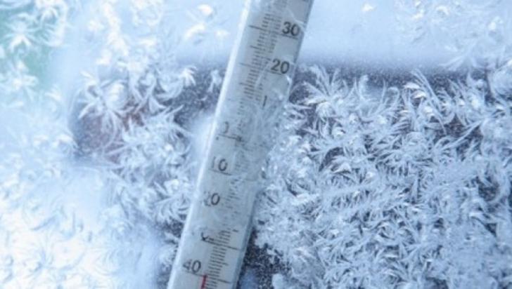 După ninsori, vine gerul: temepraturi de până la MINUS 18 GRADE. Prognoza pe trei zile