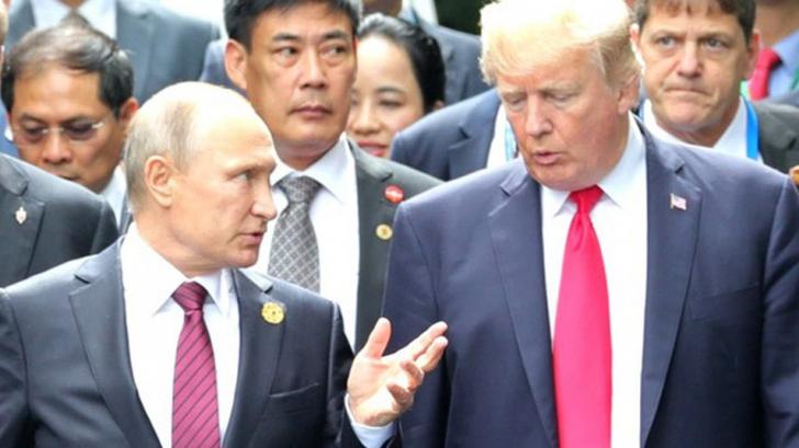 Fără precedent. Donald Trump anulează întâlnirea cu Putin