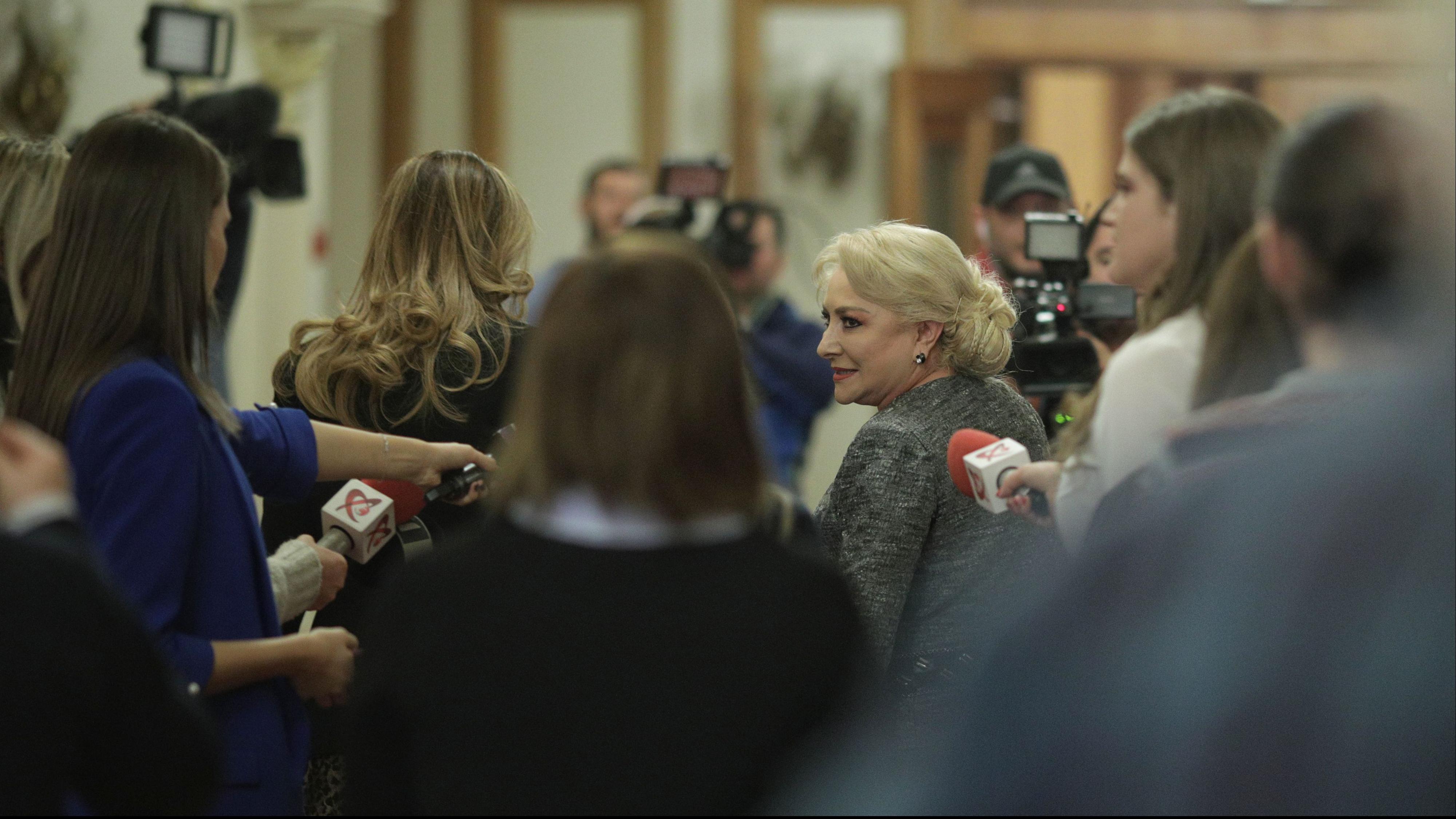 S-a decis data depunerii moţiunii de cenzură împotriva Guvernului Dăncilă / Foto: Inquam Photos / Octav Ganea