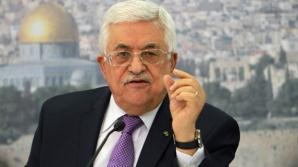 Preşedintele Abbas anunţă că vrea să dizolve parlamentul palestinian