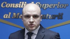 Nicolae Solomon, vicepreședintele CSM