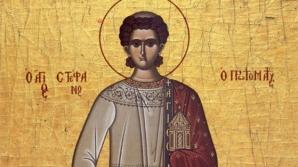 Sărbătoare mare astăzi: Creştinii îl prăznuiesc pe Sfântul Ştefan