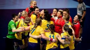 Handbal feminin: România a învins categoric Norvegia, cu 31-23, la EURO 2018
