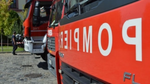 Un bărbat din Botoşani a murit într-un incendiu provocat de o sobă supraîncălzită