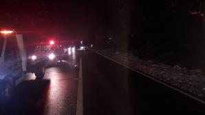Sibiu: Trei persoane au ajuns la spital în urma unui carambol între patru mașini