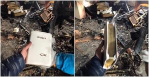 Biblie incendiu