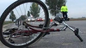 Un biciclist a decedat pe loc într-un accident rutier pe Şos. Bucureşti-Târgovişte